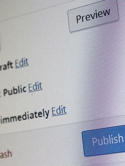 SEO Content Erstellung und Workflow für Redaktionen für Wordpress und Typo3
